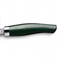 Nesmuk Exklusiv C150 Damast Slicer 16 cm - Griff Micarta grün