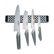 Global G-251138 / M30 Messer-Set 5-teilig inklusive Magnetleiste