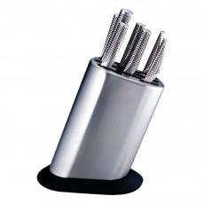 Global G-888P Messerblock für 8 Messer - Edelstahl - unbestückt
