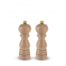 Peugeot Paris U'Select Pfeffermühle + Salzmühle 18 cm im Set / Buchenholz natur