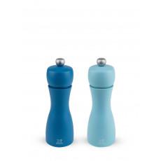 Peugeot Tahiti Sommer Pfeffermühle + Salzmühle 15 cm im Set / Buchenholz