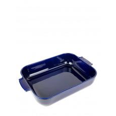 Peugeot Appolia Auflaufform rechteckig 40 cm blau - Keramik