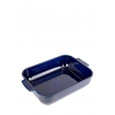 Peugeot Appolia Auflaufform rechteckig 32 cm blau - Keramik