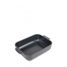 Peugeot Appolia Auflaufform rechteckig 25 cm schiefergrau - Keramik