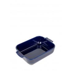 Peugeot Appolia Auflaufform rechteckig 25 cm blau - Keramik