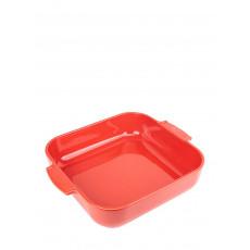 Peugeot Appolia Auflaufform quadratisch 36 cm rot - Keramik