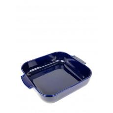 Peugeot Appolia Auflaufform quadratisch 36 cm blau - Keramik