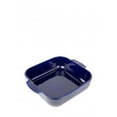Peugeot Appolia Auflaufform quadratisch 28 cm blau - Keramik