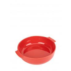 Peugeot Appolia Auflaufform rund 27 cm rot - Keramik