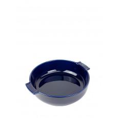 Peugeot Appolia Auflaufform rund 27 cm blau - Keramik