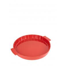 Peugeot Appolia Tarteform 30 cm rot - Keramik