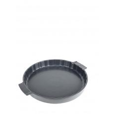Peugeot Appolia Tarteform 30 cm schiefergrau - Keramik