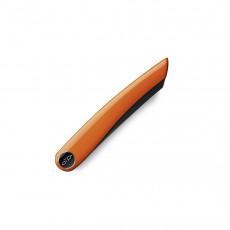 Nesmuk Janus Folder 8,9 cm - Niobstahl mit DLC-Beschichtung - Griff Klavierlack orange