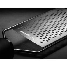 Microplane Gourmet Serie grobe Reibe mit schwarzem Griff