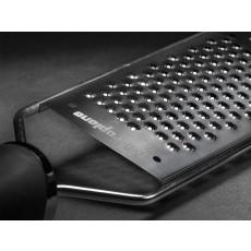 Microplane Gourmet Serie Reibe mit Sternenklinge mit schwarzem Griff