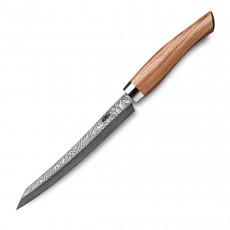 Nesmuk Exklusiv C100 Damast Slicer 16 cm - Griff Bahia Rosenholz