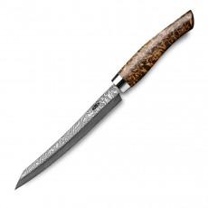 Nesmuk Exklusiv C100 Damast Slicer 16 cm - Griff Karelische Maserbirke