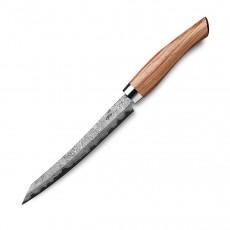 Nesmuk Exklusiv C150 Damast Slicer 16 cm - Griff Bahia Rosenholz