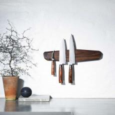 Noyer Messerhalter magnetisch 40 cm - Walnussholz
