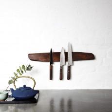 Noyer Messerhalter magnetisch 60 cm - Walnussholz