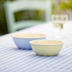 Riess Classic Bunt Pastell Küchenschüssel 30 cm / 5,0 L blau - Emaille
