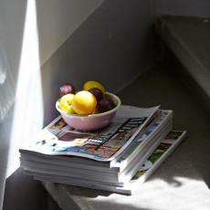 Riess Classic Bunt Pastell Küchenschüssel 14 cm / 0,47 L rosa - Emaille