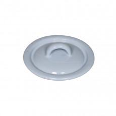 Riess Classic Bunt Pastell Deckel 9 cm blau - Emaille