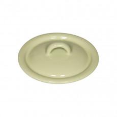 Riess Classic Bunt Pastell Deckel 11 cm nilgrün - Emaille