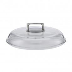 Rösle Silence Hochraum-Glasdeckel 24 cm - Borosilikatglas