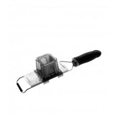 Microplane Gourmet Serie Fingerschutz / Restehalter für schmale Reiben