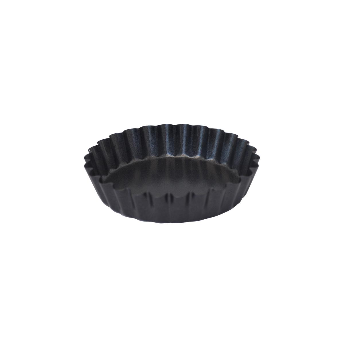 de Buyer Patisserie Tarteletteform 10 cm aus Stahl mit Antihaftbeschichtung